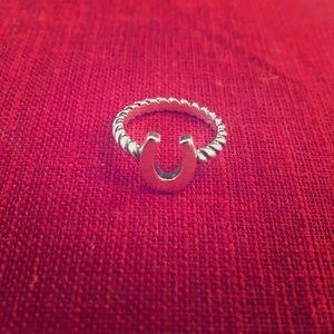 James Avery Horseshoe Ring